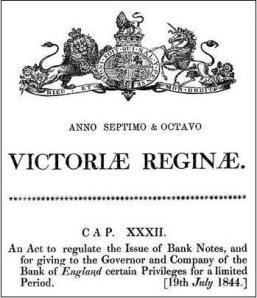 Bank Act 1844