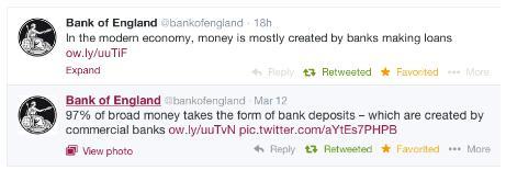 bank of england tweets