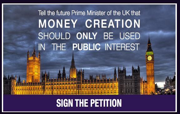 positive money petition